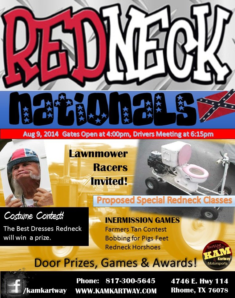 Redneck Nationals Flyer