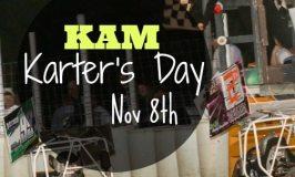 KAM Karter's Day Nov 8th