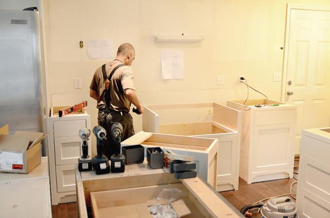 Kitchen Remodel – Demo & Install