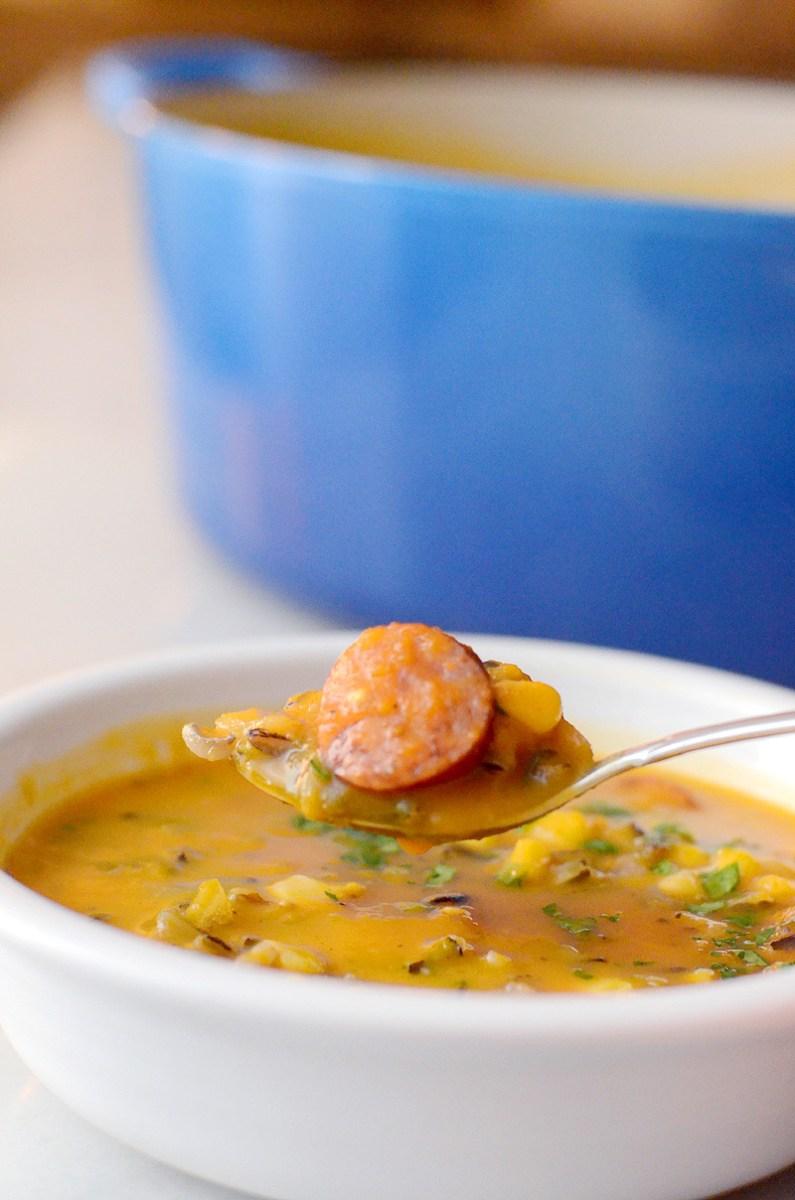 Butternut Squash Wild Rice Soup