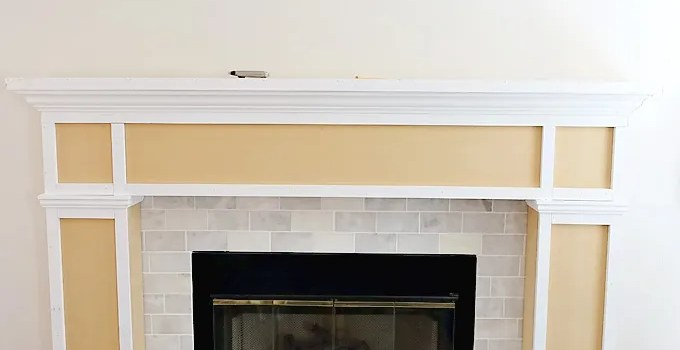 A Realistic Fireplace Makeover: Part 2