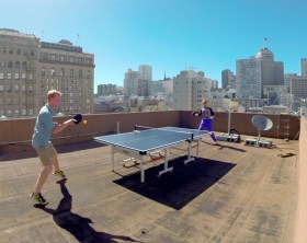 Rooftop Ping Pong