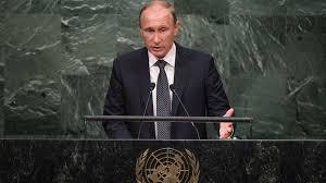 <プーチンの国連演説>