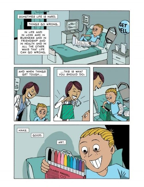 Make Good Art - Credit: Zen Pencils