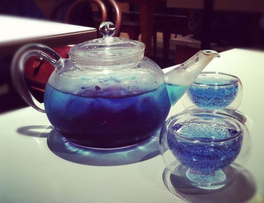 Fruit Tingle Pot-Tail - Vodka, Tequila, Blue Curacao, Triple Sec, Lemonade & Grenadine