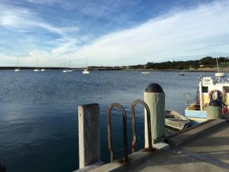 On the pier Apollo Bay, Great Ocean Road