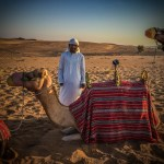 360 video rig mounted on a Camel!
