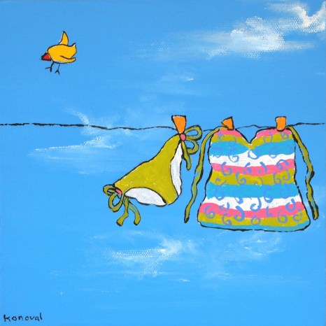 My Friend Sally Has 56 Swim Suits #10, Karin Konoval