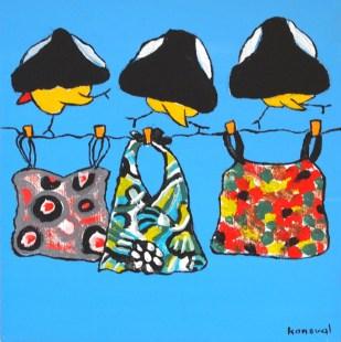 My Friend Sally Has 56 Swim Suits #14, Karin Konoval