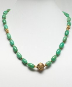 Chrysopras Necklace