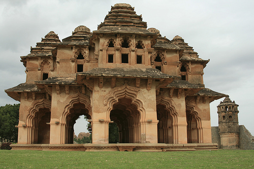 lotus mahal, hospet near Hampi