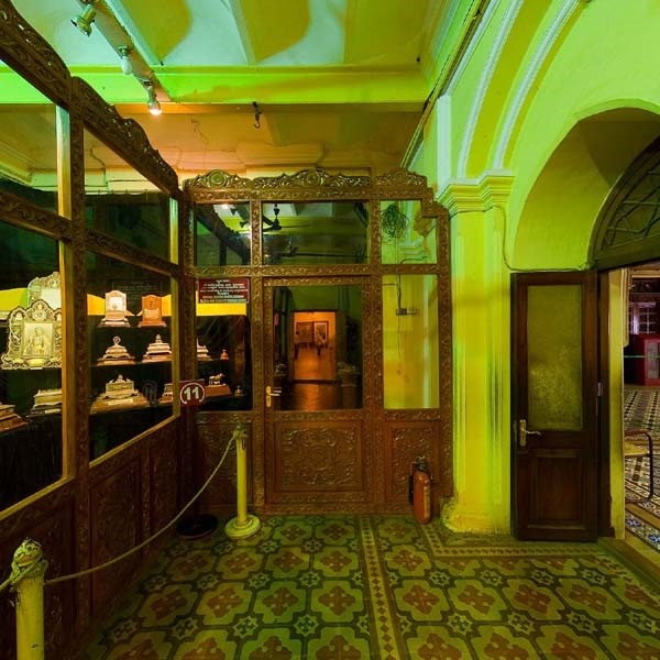Casket Gallery, Mysore Palace. Photo source mysorepalace.gov.in