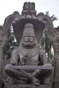 Lakshmi Narasimha Statue, Hampi – Grandeur amidst Ruins