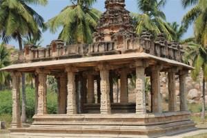 Gejjala Mantapa, Hampi – An Ornate Platform