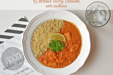 coconut curry salmon