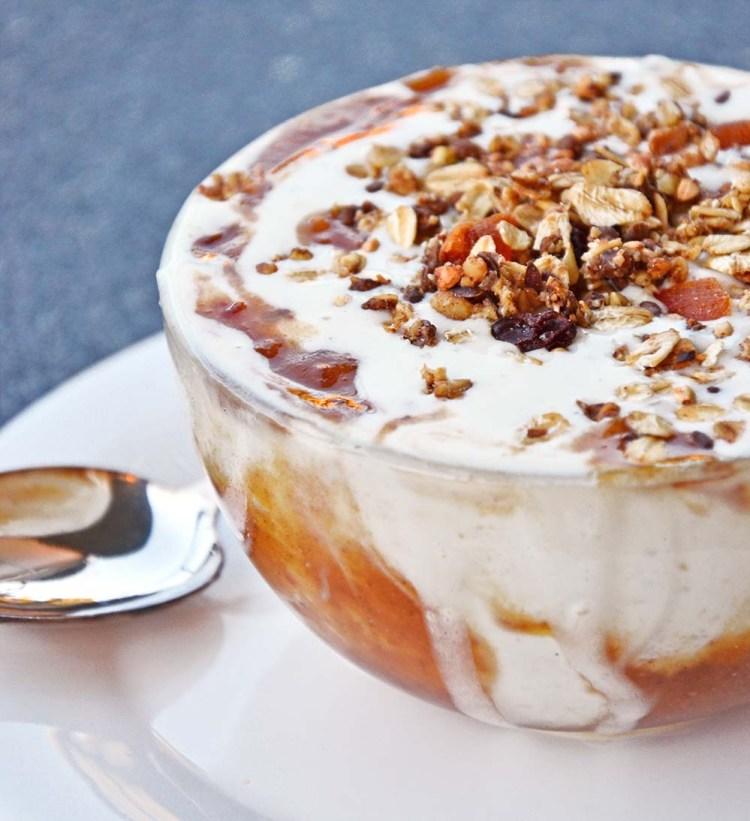 Caramel smoothie