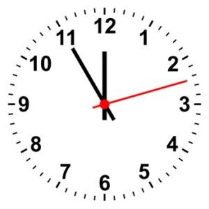 Uhr simpel