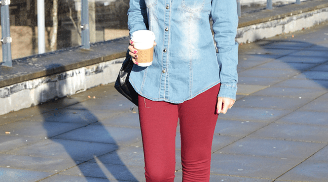Look do dia: camisa jeans
