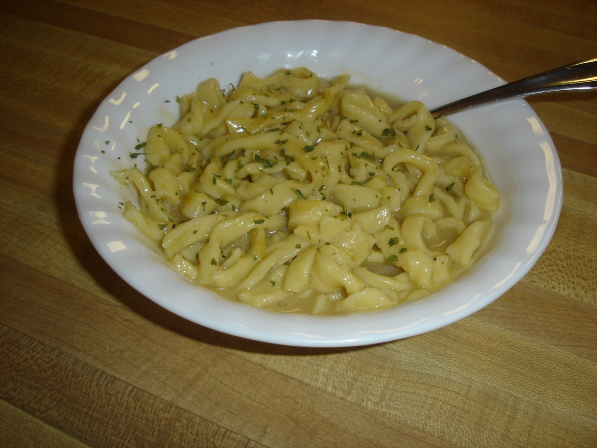 Egg Noodles From Scratch