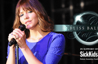 Katharine McPhee is a guest performer at Bliss Ball 2013 in Toronto, Canada!