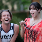 Katharine with producer Toby Gad in July, 2011.