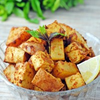 Lemon-Dijon Tofu and Potatoes