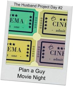Plan a Guy Movie Night