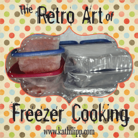 The Retro Art of Freezer Cooking