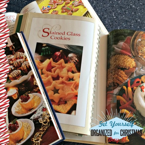 Get Yourself Organized for Christmas Project 11: Get Your Recipes Together