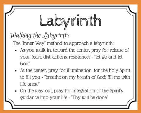 Want a deeper journey with God? Want to hear His voice more clearly? Try walking a labyrinth for prayer. Use movement and meditation to walk closer to God. (+ free printable prayer cards)
