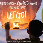 Want To Soar On God's Dreams For Your Life? Let Go.