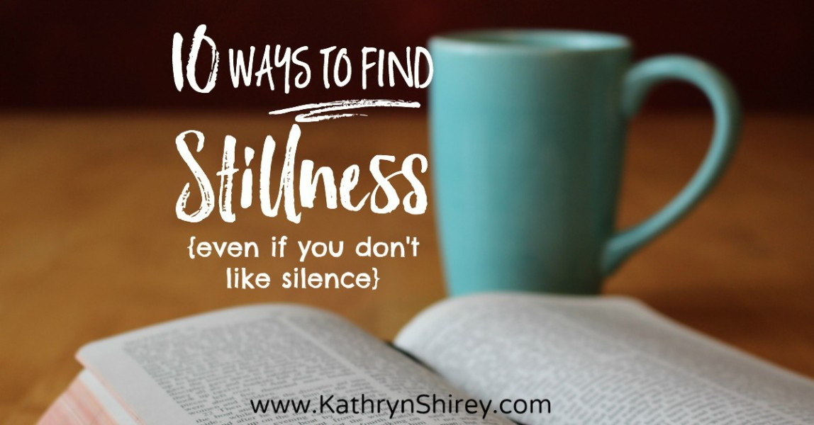 Is the busyness of life wearing you thin? Try these 10 ways to practice stillness and reconnect to God with contemplative prayer, listening prayer and more.
