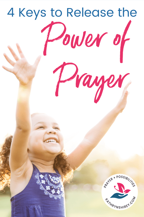 Feel like your prayers aren't working? Want to pray more powerful prayers? Learn how to pray effectively with these 4 keys to release the power of prayer!