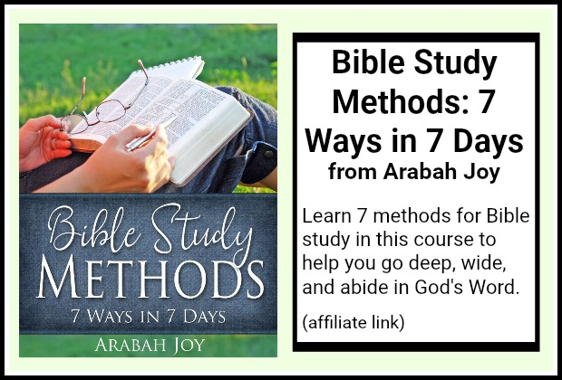 Bible Study Methods: 7 Ways in 7 Days
