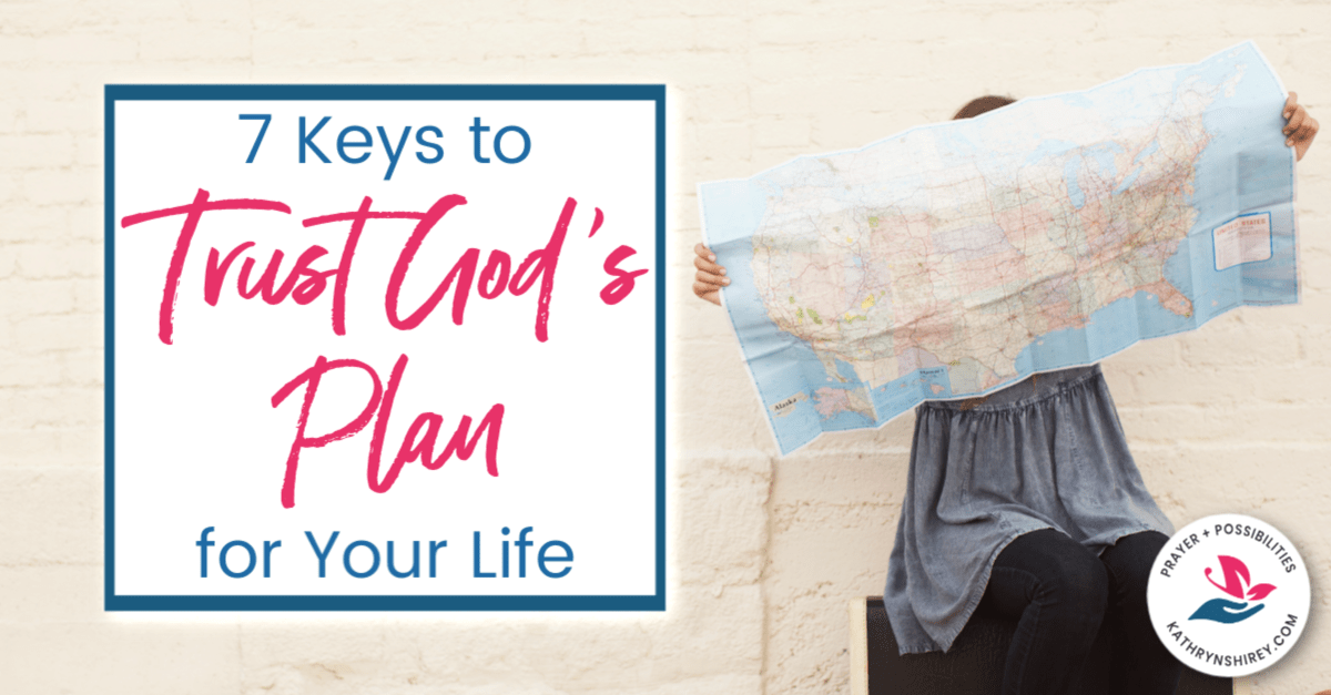 God has a plan for your life. Start taking these steps today to trust God's plan for your life and begin following where God leads.