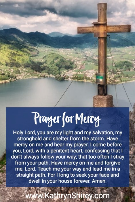 Prayer for Mercy | Second Sunday in Lent | Prayer for the Week | Daily Prayer