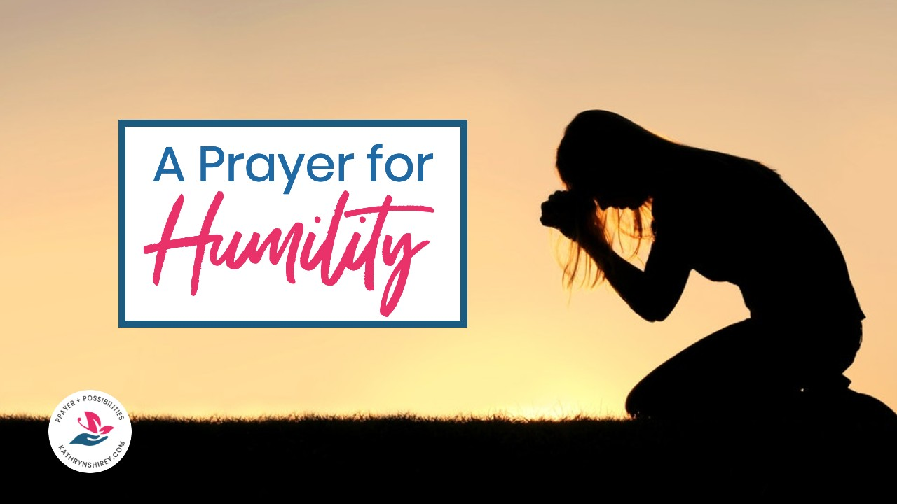 A daily prayer for humility. Pray to be humble like Christ, following in his example for your life, to serve God in all that you do.