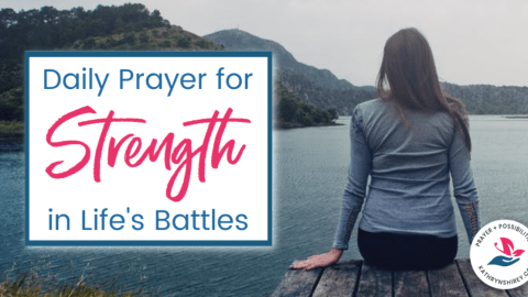 Daily Prayer for Battle