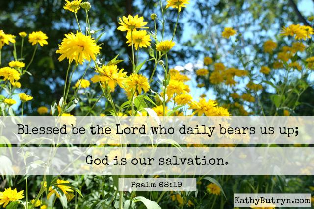 flowers Psalm 68.19