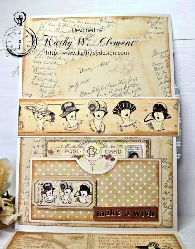I Feel Pretty, Oh So Pretty! Monochromatic Challenge RRR A Ladies Diary 05