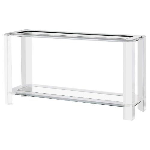 Medium Crop Of Acrylic Console Table