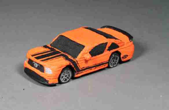 Hot Wheels Mustang Reproduction Project