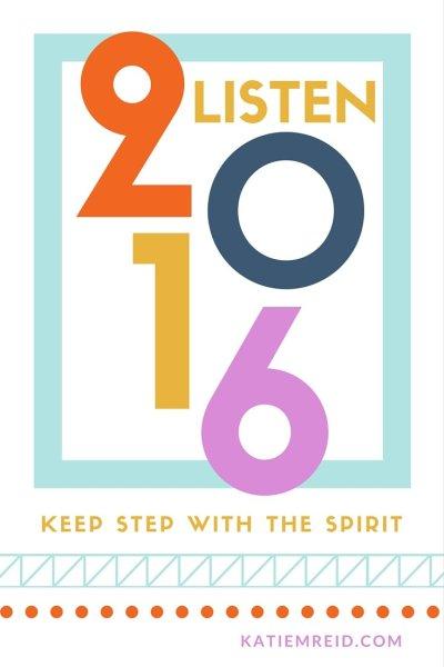 Learn to listen in 2016 by Katie M. Reid