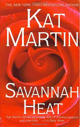 Savanah Heat Book Cover