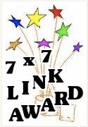 7 x 7 blog award
