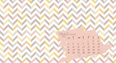 Free desktop/iphone/ipad wallpapers and calendars for MARCH - Katrina Chambers