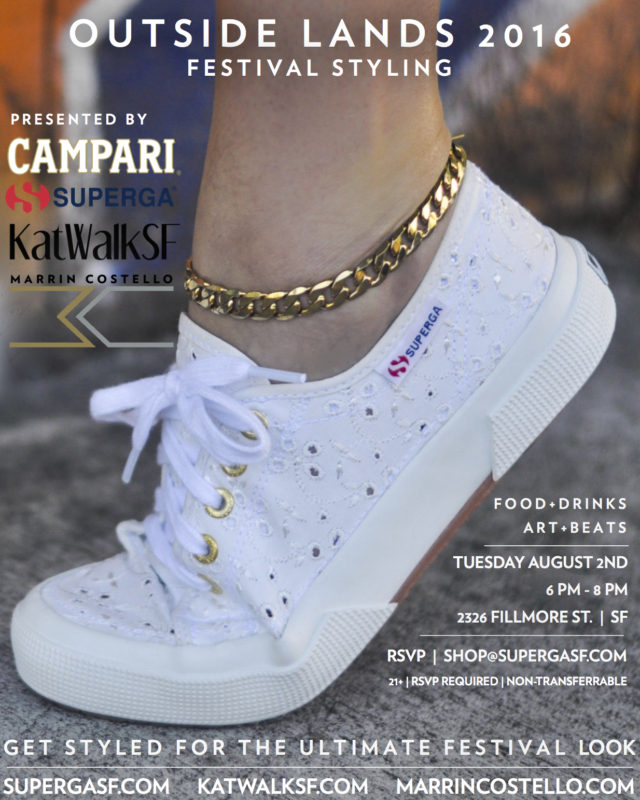 Outside Lands, Marrin Costello, Superga SF, KatWalkSF
