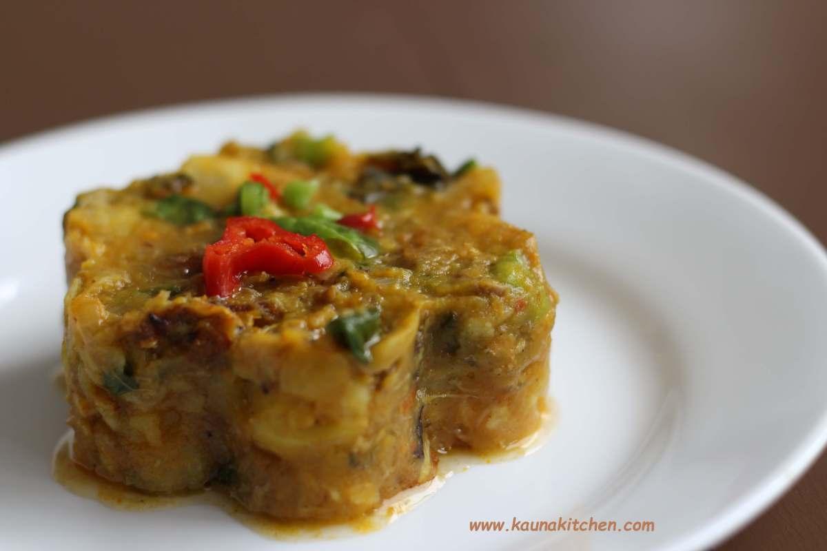 Sweet Potato & Plantain Porridge
