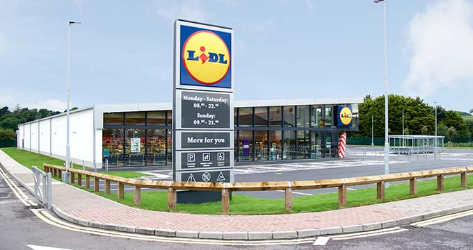 Shopping trolley systems for Lidl   Kavanagh Engineering Shopping trolley systems for Lidl