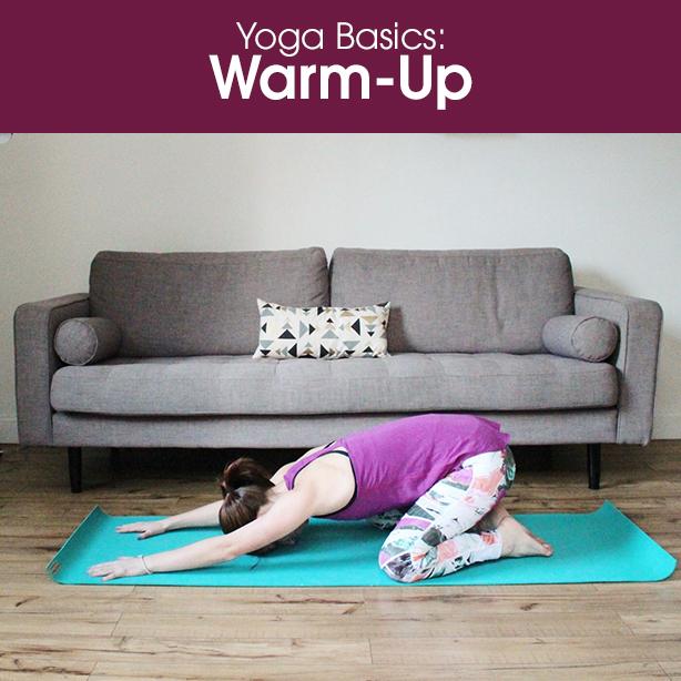 yoga warm up video